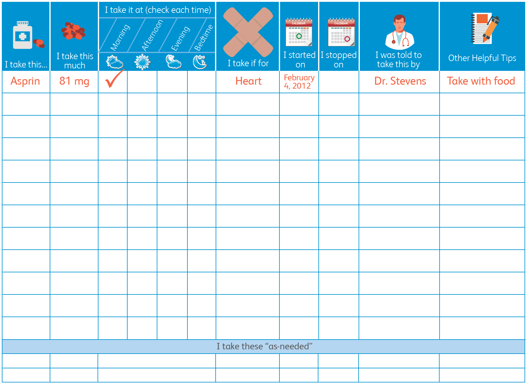 Your Personal Medication Tracker